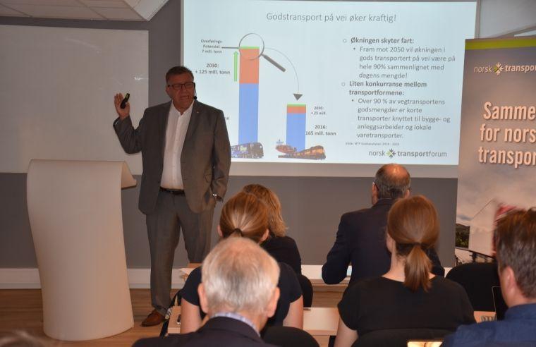 Tungtransport, teknologi og trender - Rapport fra NLF`s temamøte om bompenger